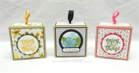 card gift sets st create with sabrina two more 3 x 3 boxed gift