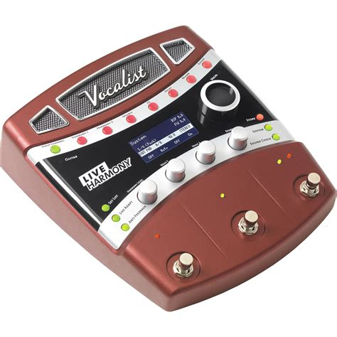 best harmony pedal digitech vocalist live harmony vocal effects pedal vlhm b h