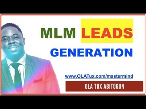 3 secrets to mlm lead generation for home based business