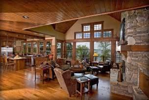 log cabin living rooms log cabin living room family room pinterest