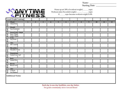 Anytime Fitness Ladson Workout Card Photo By Anytimefitnessladson Photobucket Workout Cards Template