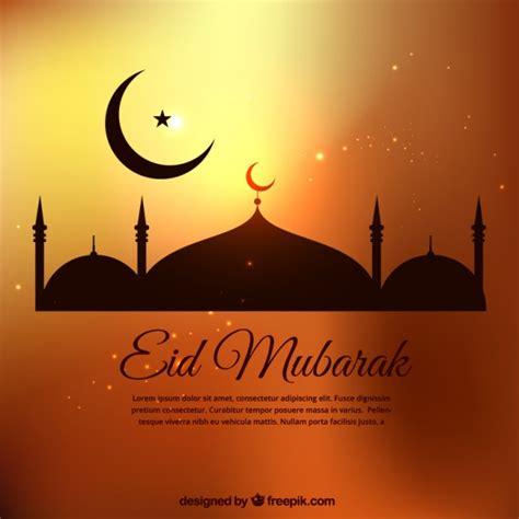 Eid Ul Adha Cards Template by Eid Mubarak Template In Golden Tones Vector Premium