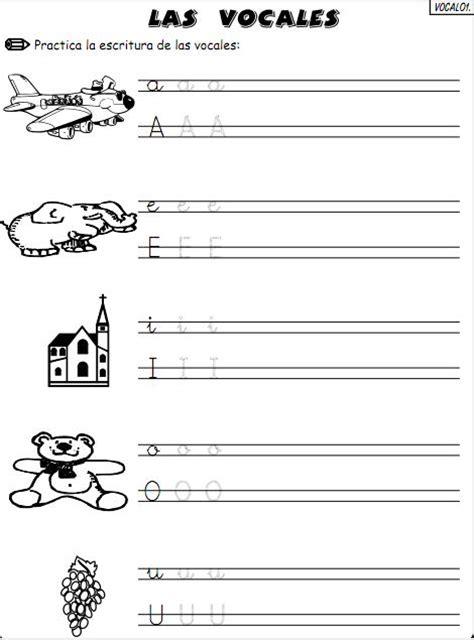 apoyo escolar para imprimir las vocales ejercicios con las vocales para imprimir ejercicios para