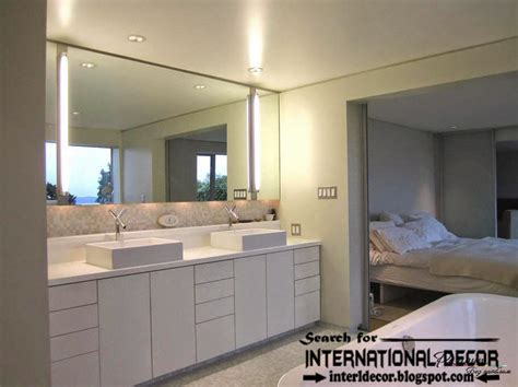 contemporary bathroom lights modern bathroom lights and lighting concepts top home