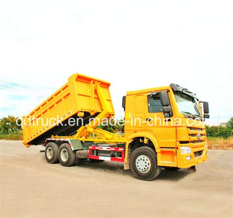 Arm Roll Hook Lift Truck china roll hook lift garbage truck roll