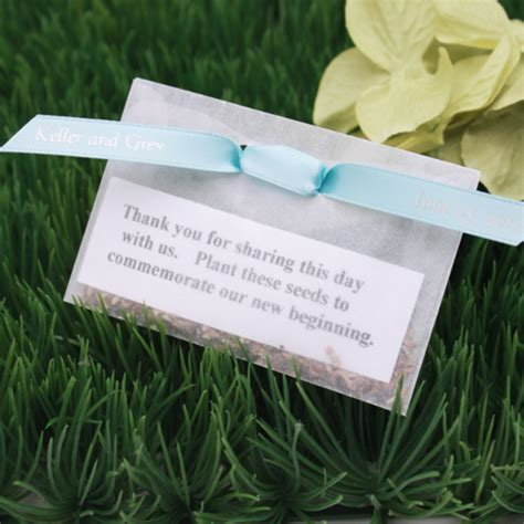 Wedding Favors Flower Seeds by Flower Seeds Wedding Favor Garden Theme Wedding Favors