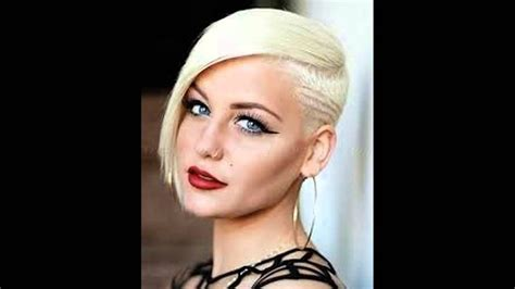 hair style for women with one side of head shaved shaving one side of my hair off womens hairstyles shaved