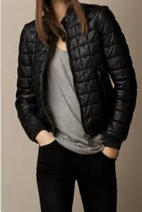 Handmade Jackets - handmade quilted leather jacket black quilted