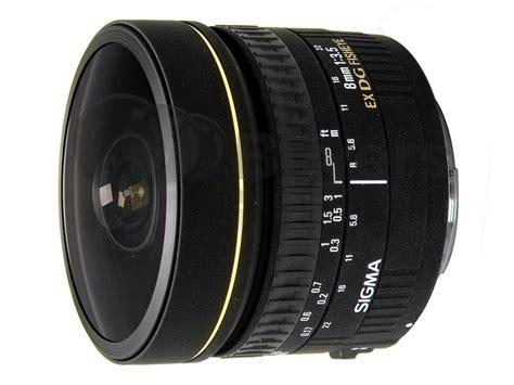 Sigma Fisheye sigma 8mm fisheye lens