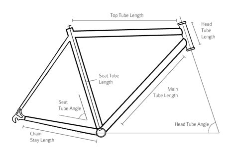 bicycle frame design dimensions inox stainless steel bicycle frames kva stainless