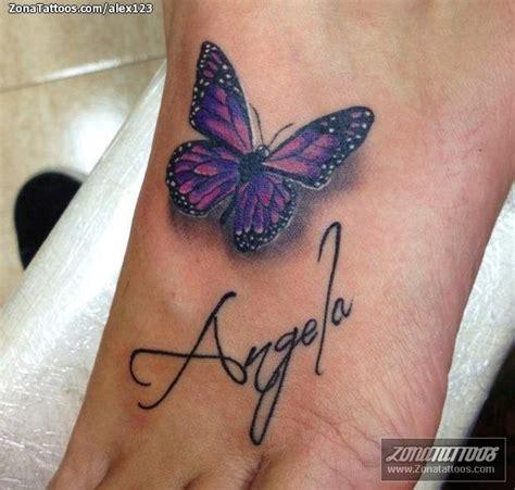 imagenes de tatuajes de nombres para mujeres tatuaje de mariposas insectos letras
