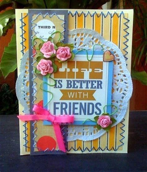 how to make friendship cards friendship cards to make