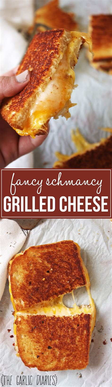 Grilled Cheese fancy schmancy grilled cheese