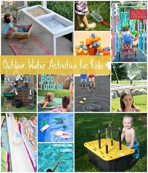 backyard kid activities outdoor water activities for kids tauni co