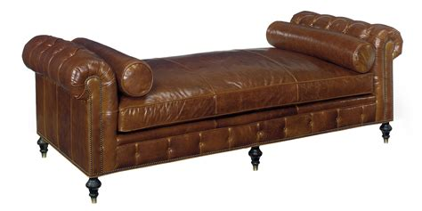 chesterfield bench seat leather tufted chesterfield daybed with bench seat club