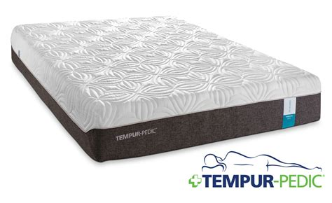 queen size bed mattress tempur pedic embrace 2 0 plush queen mattress leon s