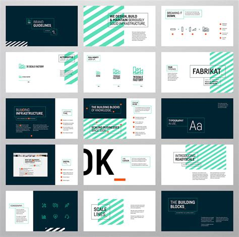 logo portfolio template the scale factory identity design scale and layouts