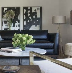 living room decor with black sofas how to decorate a living room with a black leather sofa