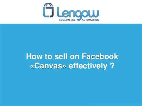 designmantic facebook how to sell on facebook quot canvas quot effectively