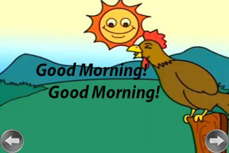 imagenes de good morning para face kids rhyme good morning aplica 231 245 es android no google play