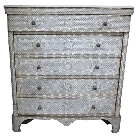 Of Pearl Dresser by Beautiful Syrian Of Pearl Inlay Dresser At 1stdibs