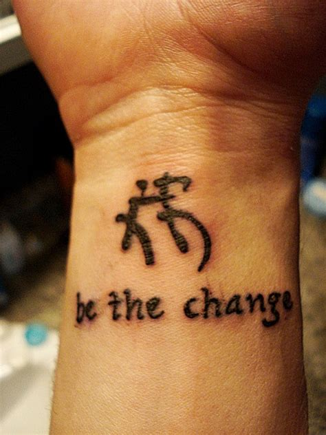 be the change tattoo be the change tattoomagz