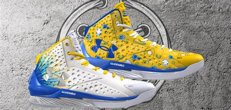 curry 1 low blue and yellow leaves
