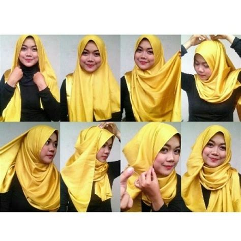 tutorial hijab pashmina instagram tutorial hijab pashmina tutorialhijabers on instagram
