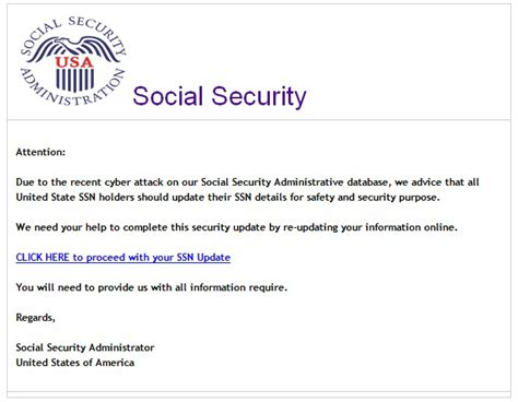 Verification Letter For Social Security phishing schemes emails phone calls and texts oh my office of the inspector general ssa