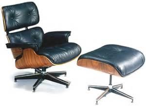 fauteuil charles eames cuir noir destockage grossiste