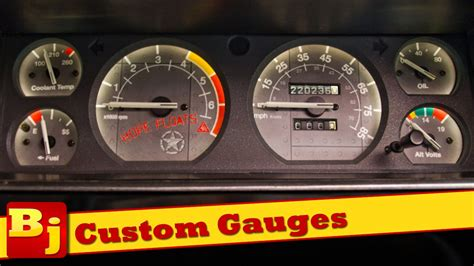 Handmade Gauges - how to install custom gauges from azzy design works