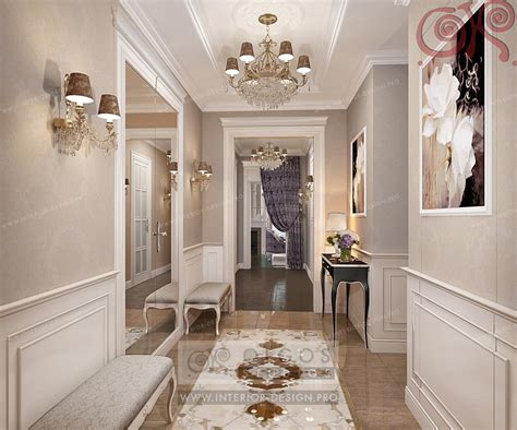 Classic Bathroom Ideas by Hallway Interior Design Visualisations Hall Design