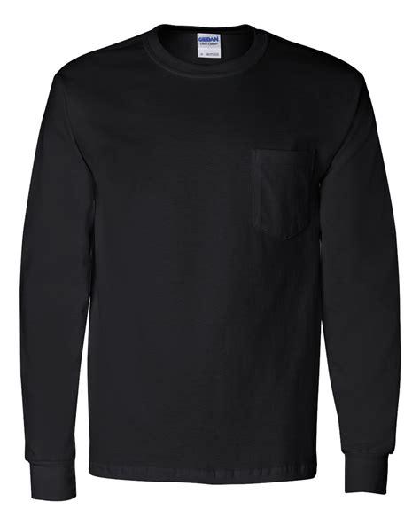 Gildan Paket gildan ultra cotton sleeve t shirt with a pocket