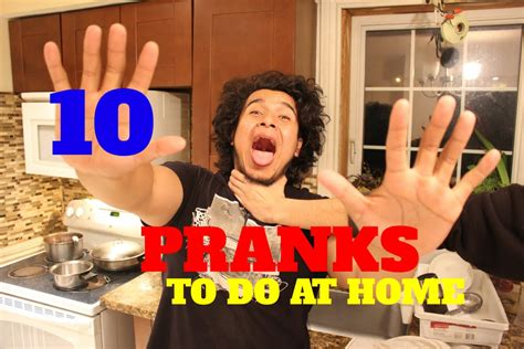 10 easy pranks you can do at home