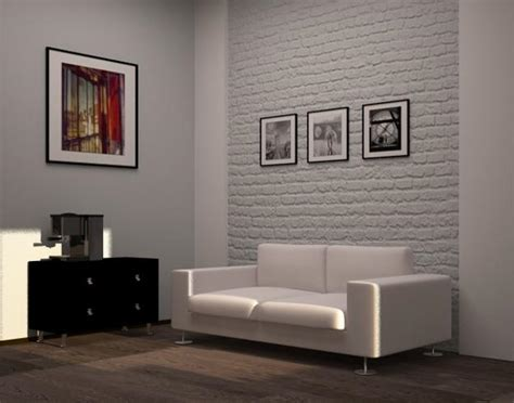Ideas For Painting Interior Brick Walls by 30 White Brick Wall Living Rooms That Inspire Your Design