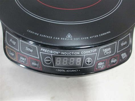 Cooktop Nuwave - nuwave 30151 precision induction cooktop ebay