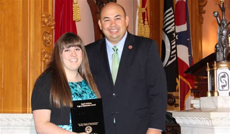 house of representatives internships intern named page of distinction at ohio house of representatives ohio university
