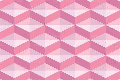 creative patterns using geometric shapes set of pink geometric patterns patterns on creative market