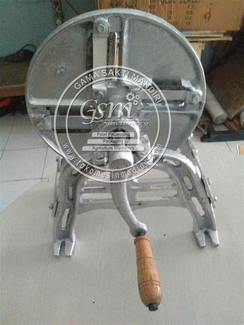 Alat Perajang Keripik Manual mesin pengiris singkong manual toko alat mesin usaha