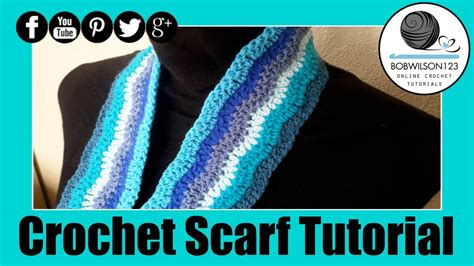 wave pattern youtube crochet lazy chevron wave scarf blanket tutorial youtube