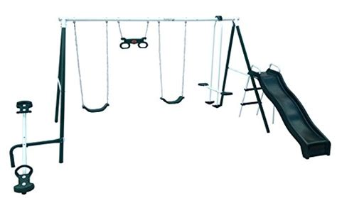 flexible flyer swing set parts flexible flyer backyard fun swing set with plays toys