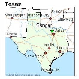 best places to live in sanger