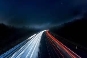 Best Lighting For Car Photography Light Trails On Highway At 183 Free Stock Photo