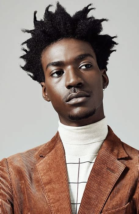 spiky afro 35 awesome afro hairstyles for men the trend spotter