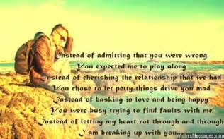 Emotional Break Letter Girlfriend breakup messages for girlfriend quotes for her
