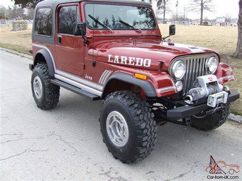 automatic jeep 1985 jeep cj7 laredo 4 2l automatic awsome