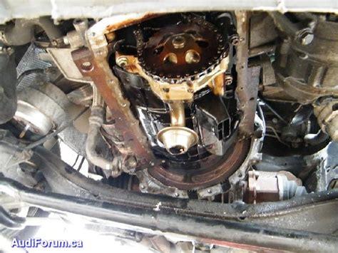 Diy Oil Pan Sump Replacement 1 8t Quattro 2001 1 8t