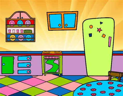 imagenes de kitchen en ingles dibujo de cocina office pintado por mariadelca en dibujos