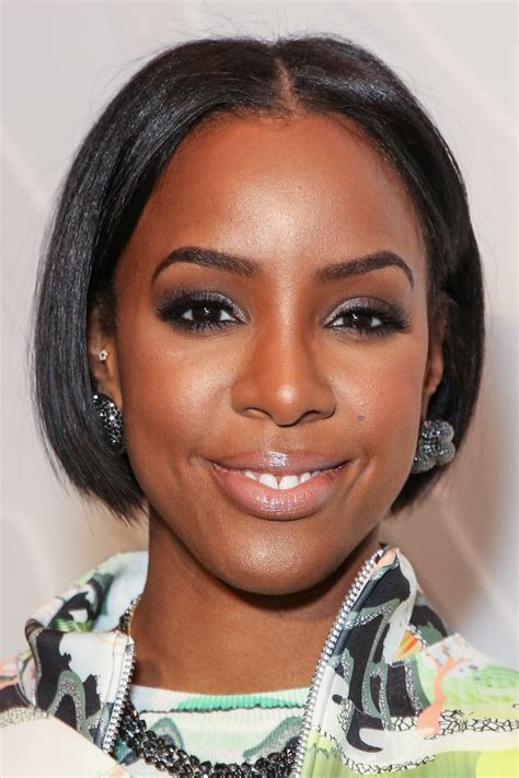 celebrity hairstyles short hairstyle guide kelly rowland s new bob upstages the clothes at fashion