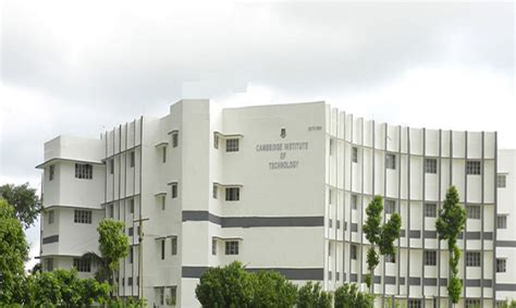Cambridge Mba Fee Structure by Cambridge Institute Of Technology Cit Ranchi Admissions